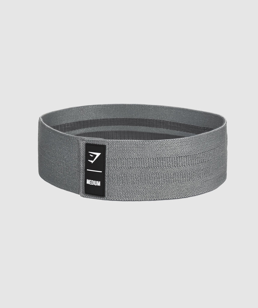 Gymshark Medium Resistance Band - Grey 1