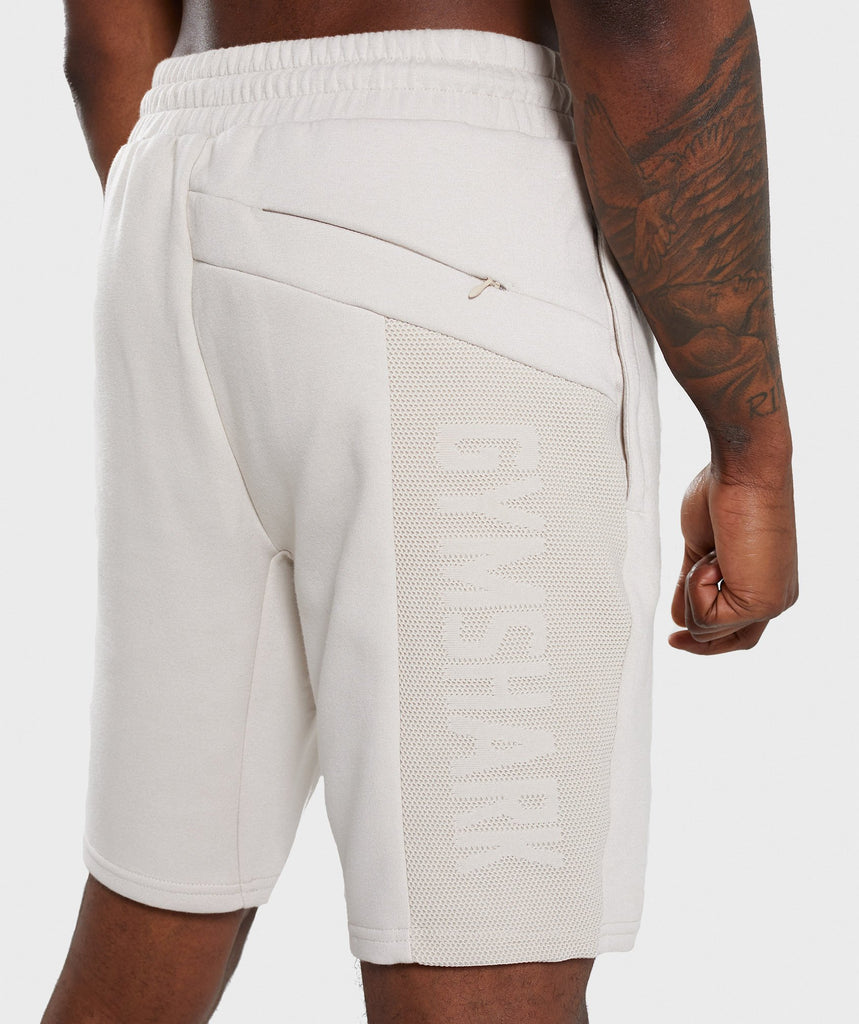 Gymshark Orbit Short - Light Grey 5