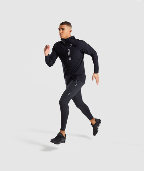Gymshark Pace Running Jacket - Black 3