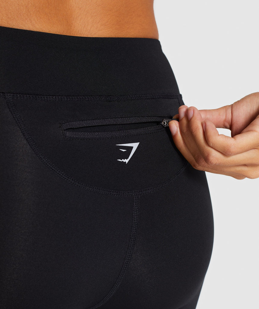 Gymshark Pace Running Leggings - Black 6