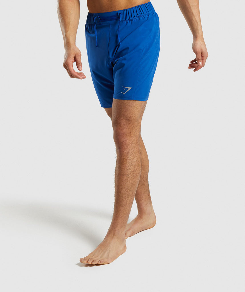 Gymshark Performance Board Shorts - Blue 1