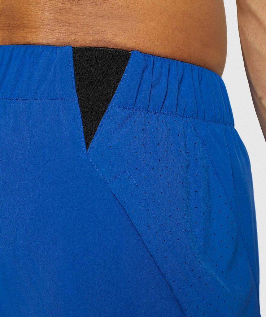 Gymshark Performance Board Shorts - Blue 6