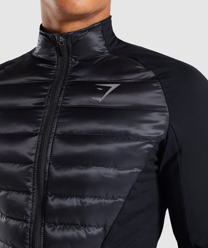 Gymshark Power Lightweight Jacket - Black 6