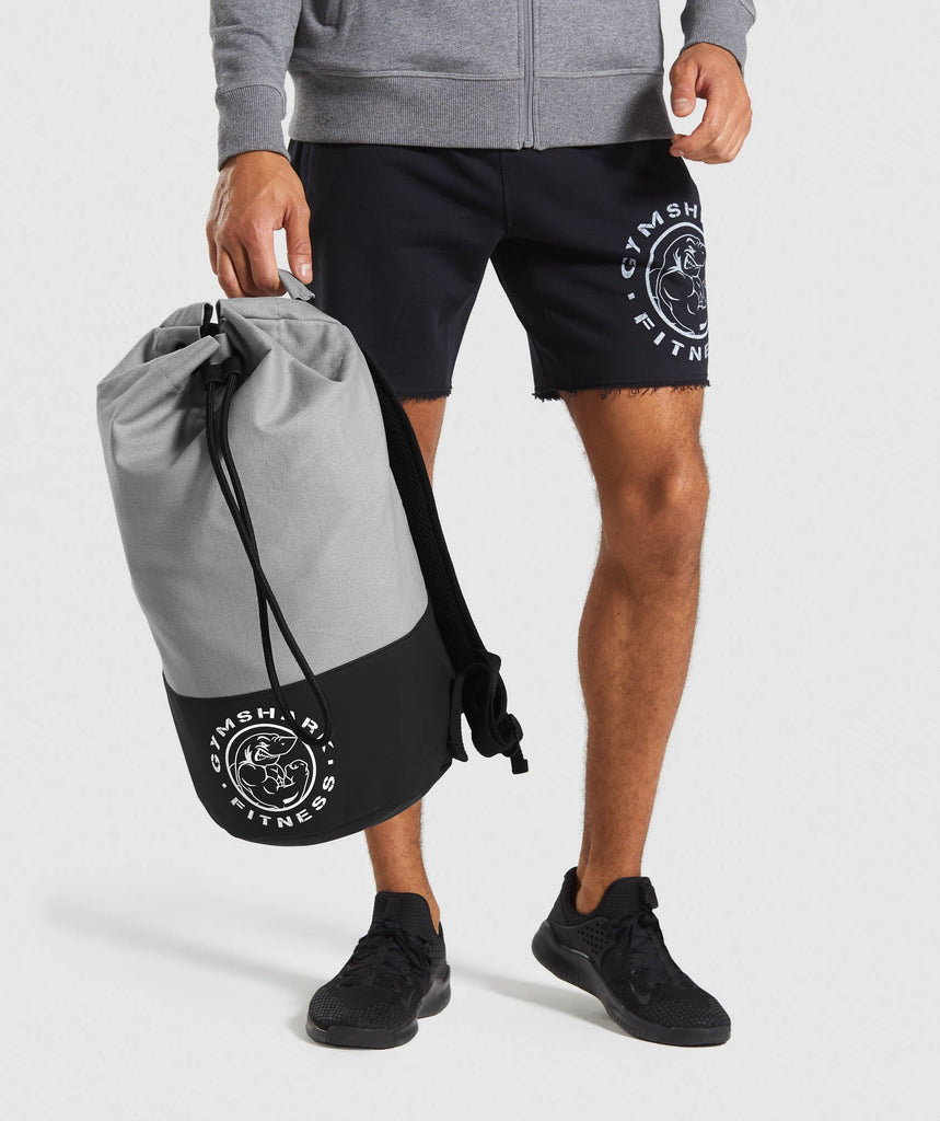 Gymshark Premium Legacy Backpack - Light Grey 1