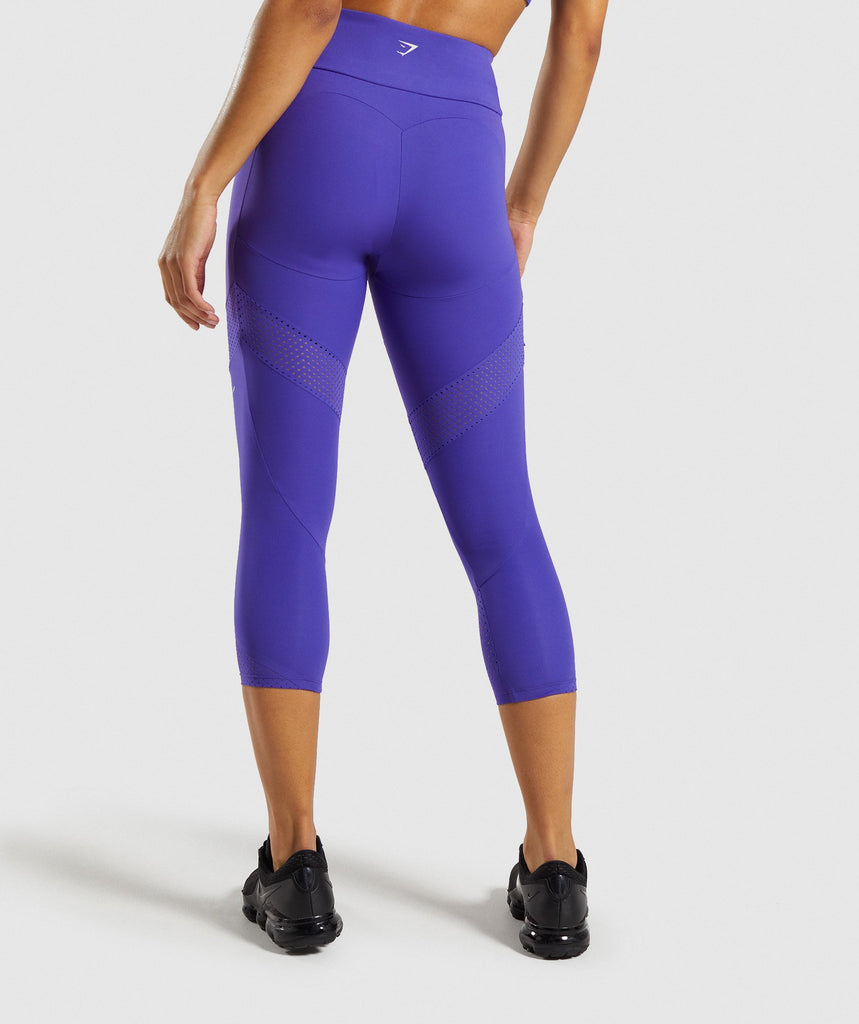 Gymshark Pro Perform Crop Leggings - Indigo 2