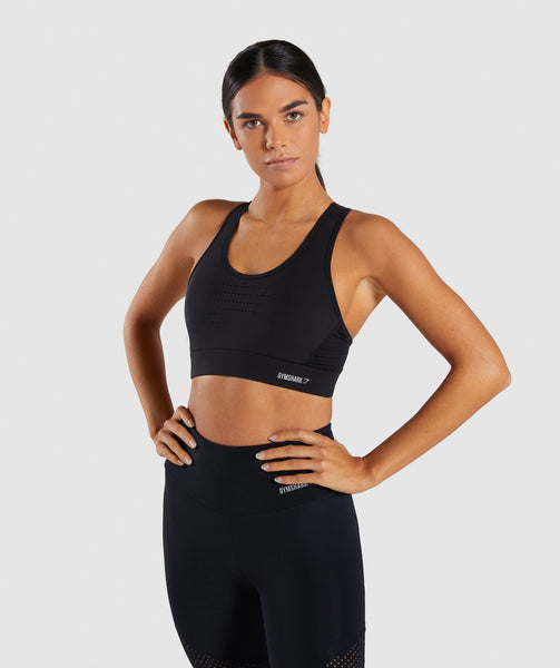 Gymshark Pro Perform Sports Bra - Black 4