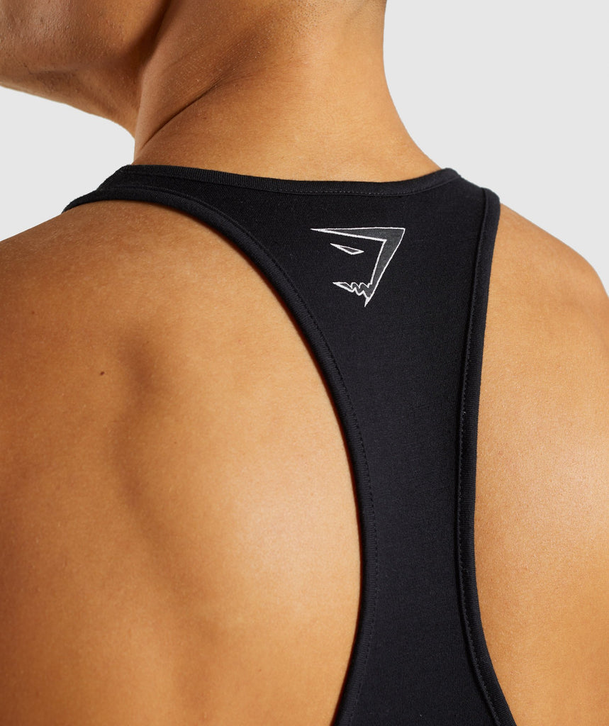 Gymshark Profile Stringer - Black 6