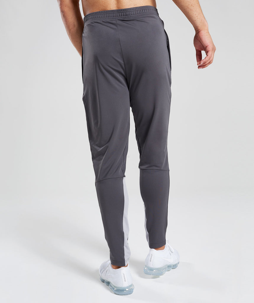 Gymshark Reactive Training Bottoms - Charcoal/Light Grey 2