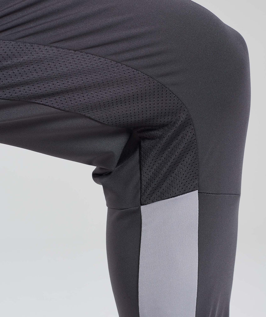 Gymshark Reactive Training Bottoms - Charcoal/Light Grey 6