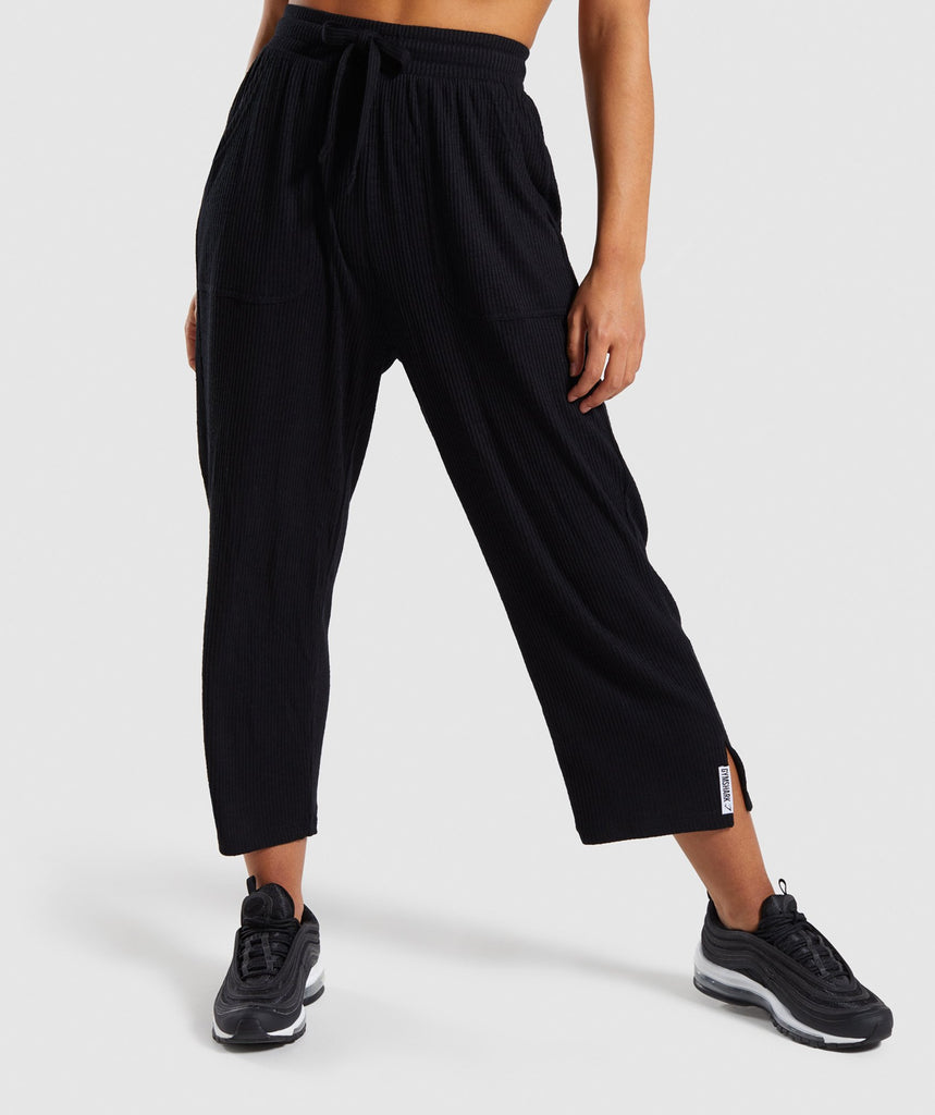 Gymshark Relaxed Joggers - Black 4
