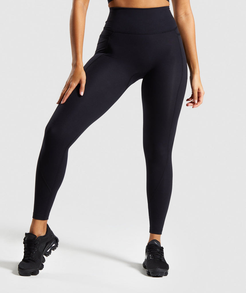 Gymshark Speed Leggings - Black 1