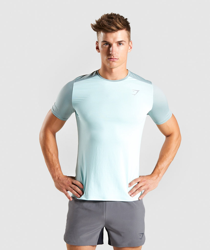 Gymshark Speed T-Shirt - Turquoise 1