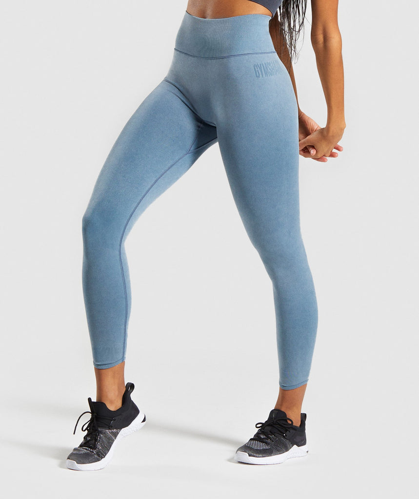 Gymshark Studio Leggings - Teal 1