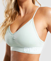 Gymshark Seamless Bralette - Light Green 11