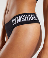 Gymshark Seamless Thong - Black 12