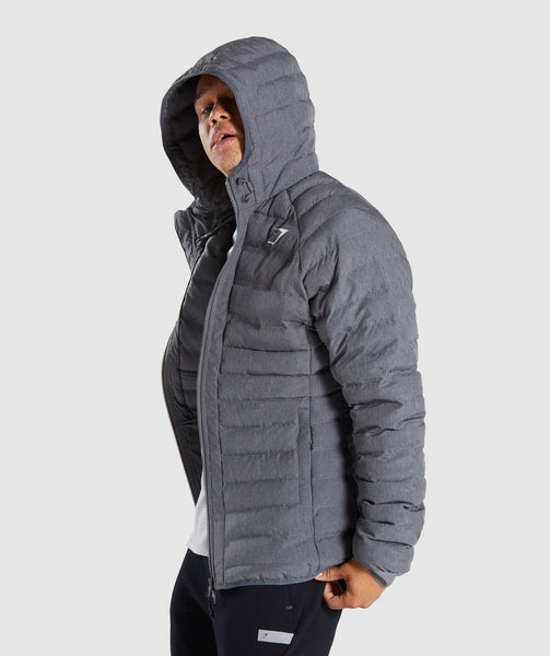 Gymshark Sector Jacket V2 - Charcoal Marl 2