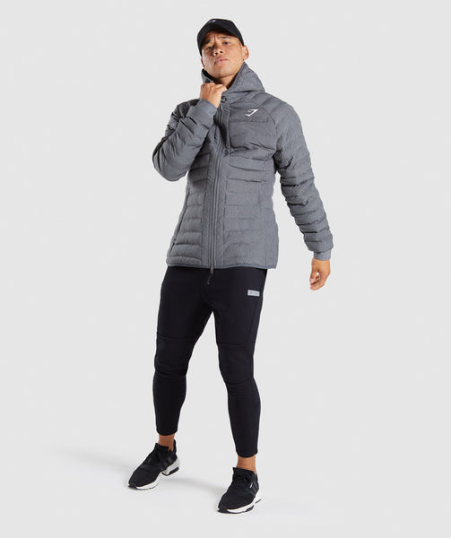 Gymshark Sector Jacket V2 - Charcoal Marl 3