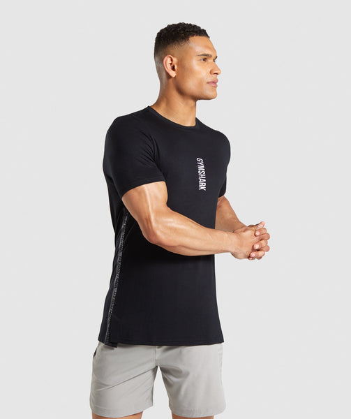 Gymshark Shadow T-Shirt - Black 4