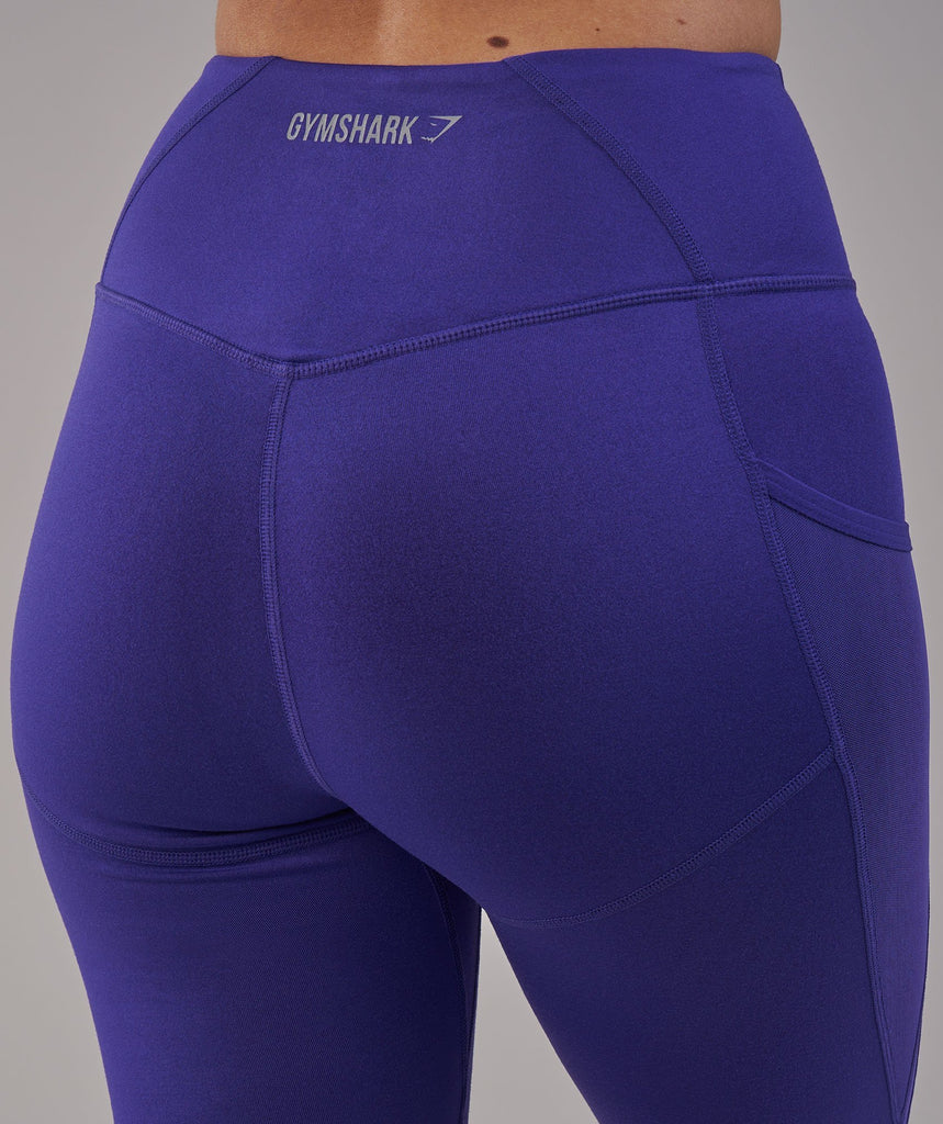 Gymshark Sleek Sculpture Leggings 2.0 - Indigo 6