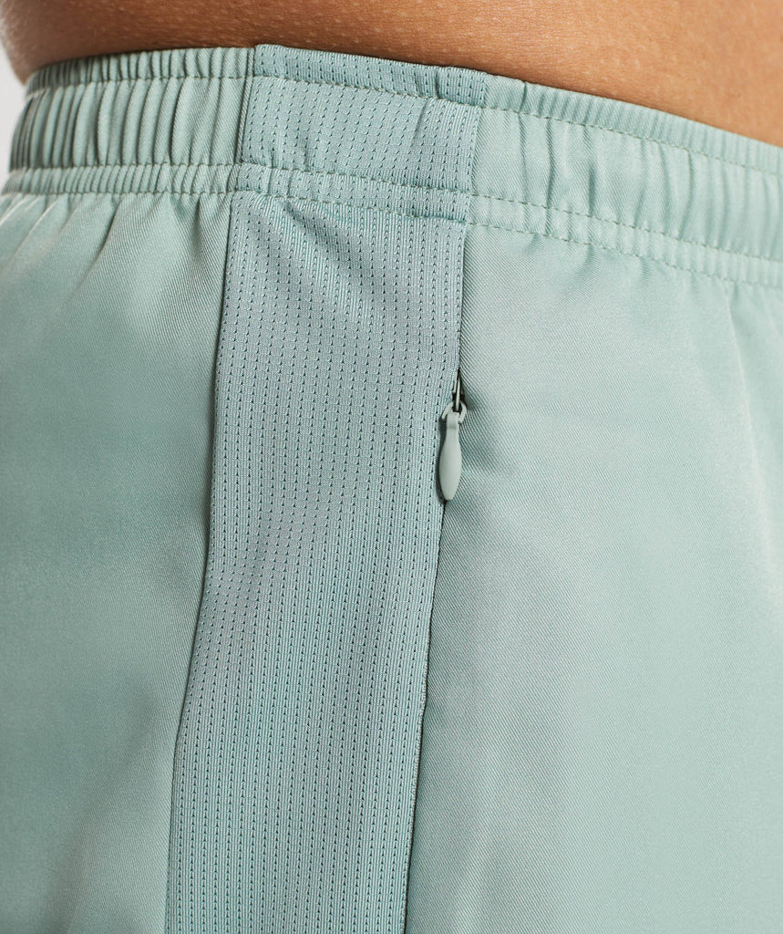 Gymshark Sport Shorts - Pale Green 5