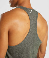 Gymshark Statement Stringer - Woodland Green Marl 12