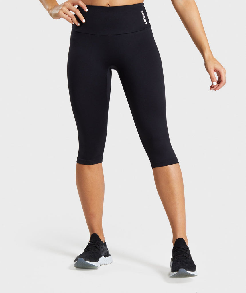 Gymshark Training Cropped Leggings - Black 1