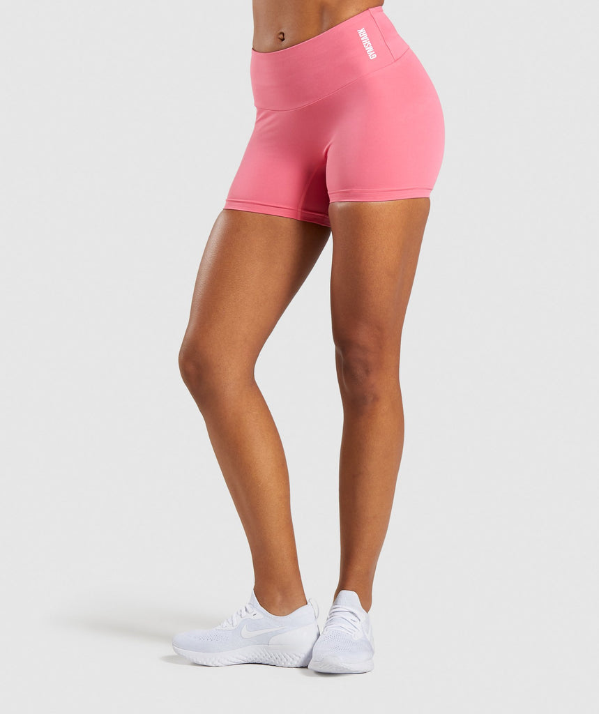 Gymshark Training Shorts - Pink 1