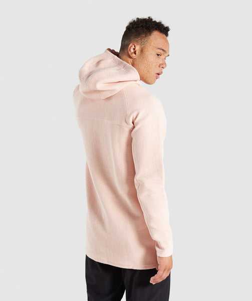 Gymshark Textured Pullover - Blush Nude 1
