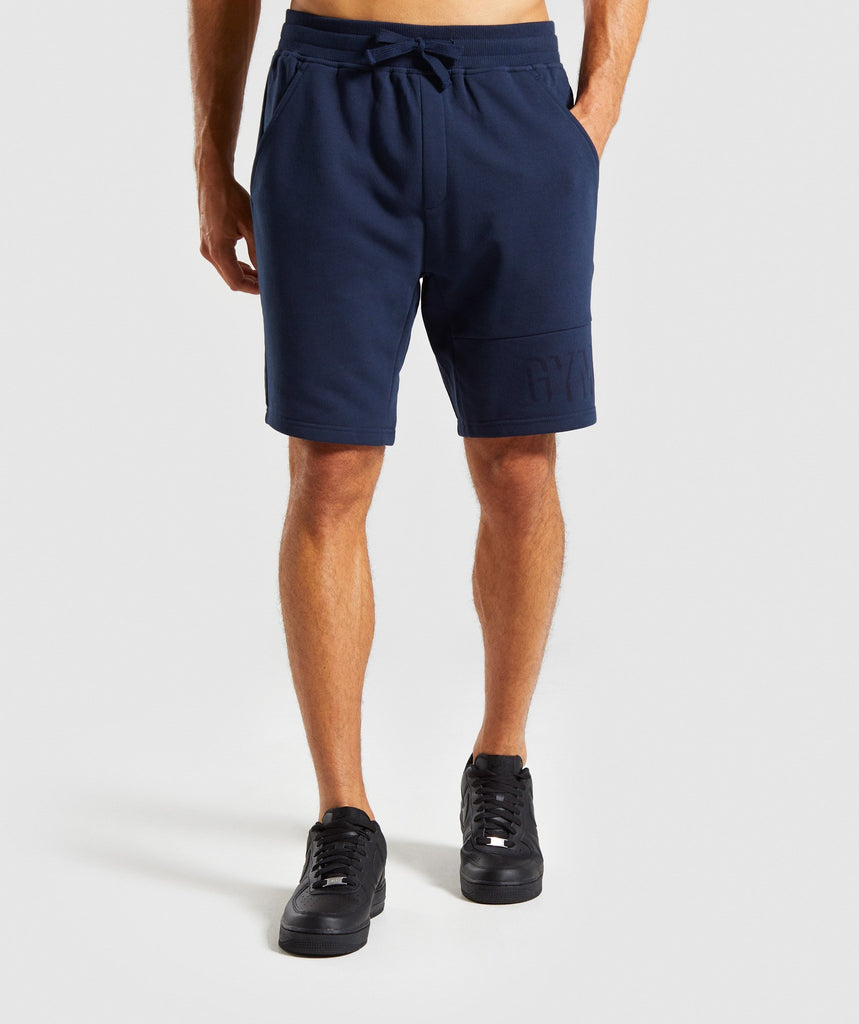 Gymshark Tonal Shorts - Dark Blue 1
