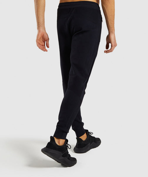 Gymshark True Knit Jogger - Black 4