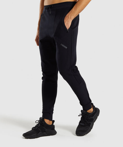 Gymshark True Knit Jogger - Black 2