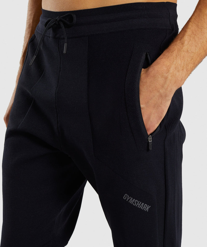Gymshark True Knit Jogger - Black 6