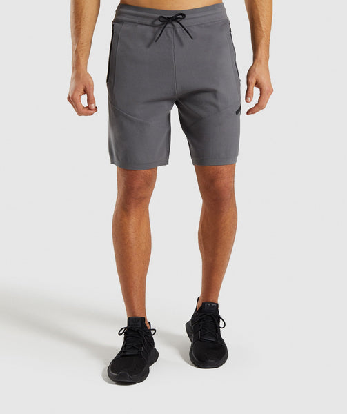 Gymshark True Knit Shorts - Smokey Grey 4