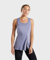 Gymshark True Texture Vest - Steel Blue 7