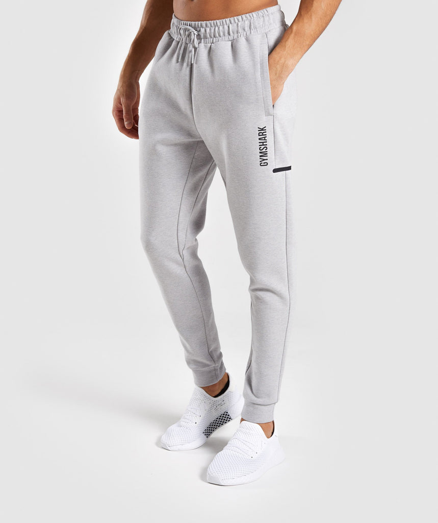 Gymshark Ultra Joggers - Light Grey Marl 1