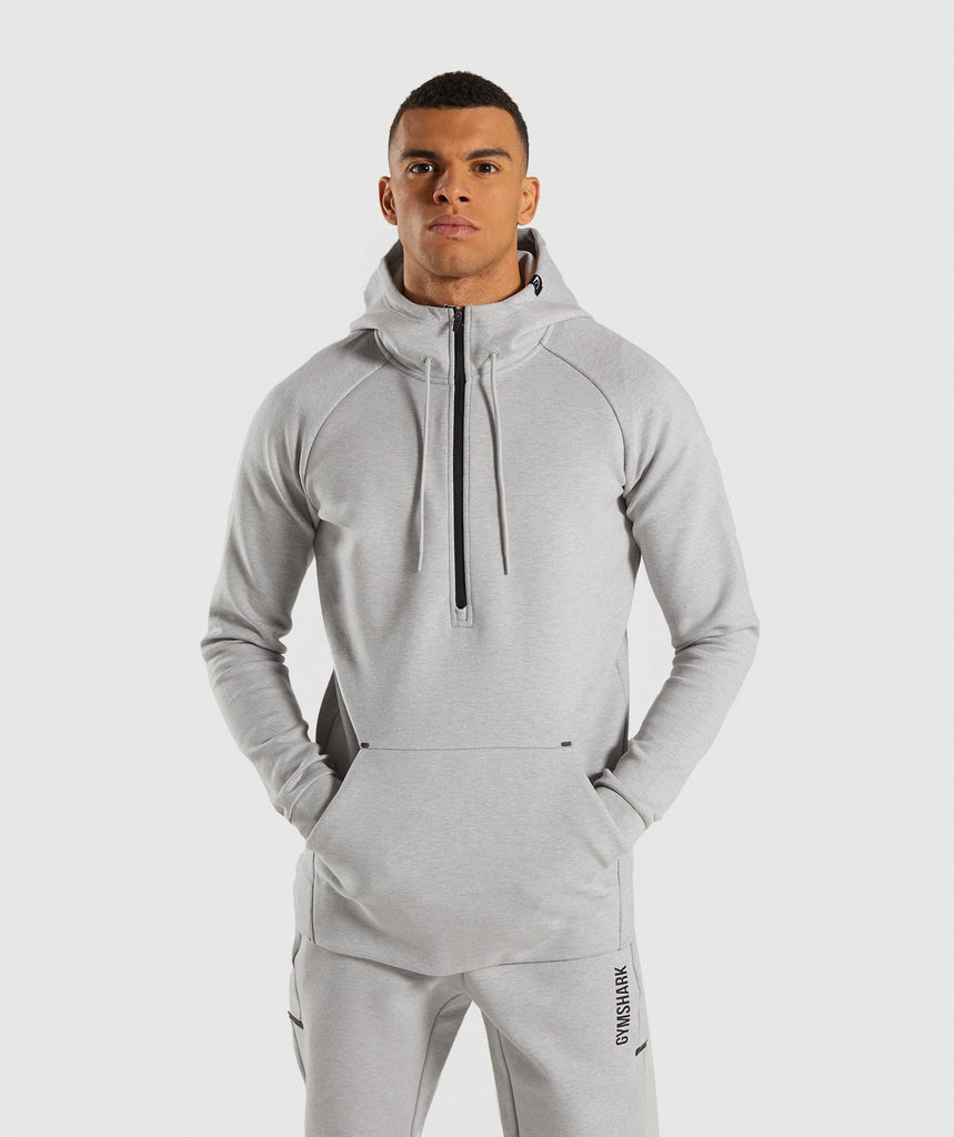 Gymshark Ultra Pullover - Light Grey Marl 1