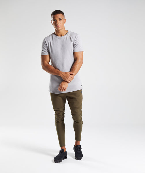 Gymshark Unwind T-Shirt - Light Grey 3