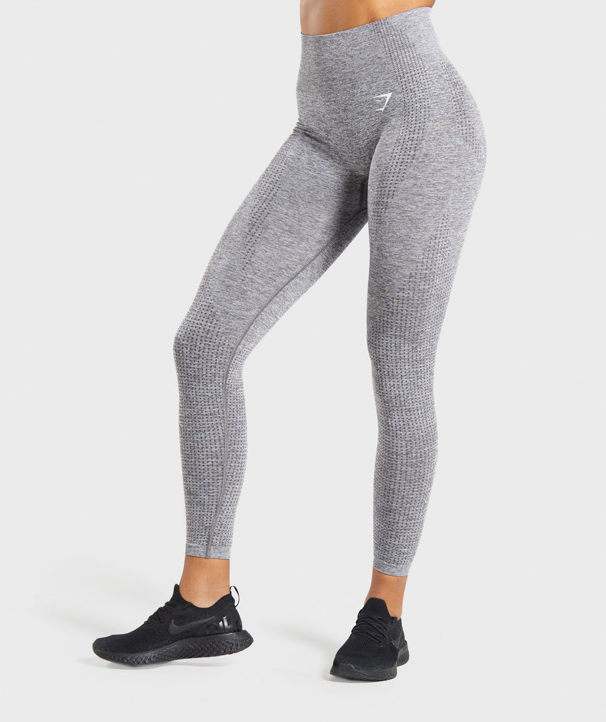 Gymshark Vital Seamless Leggings - Smokey Grey Marl 1