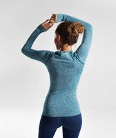 Gymshark Vital Seamless Long Sleeve Top - Deep Teal 8