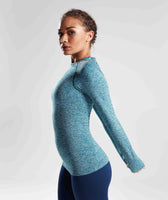 Gymshark Vital Seamless Long Sleeve Top - Deep Teal 9