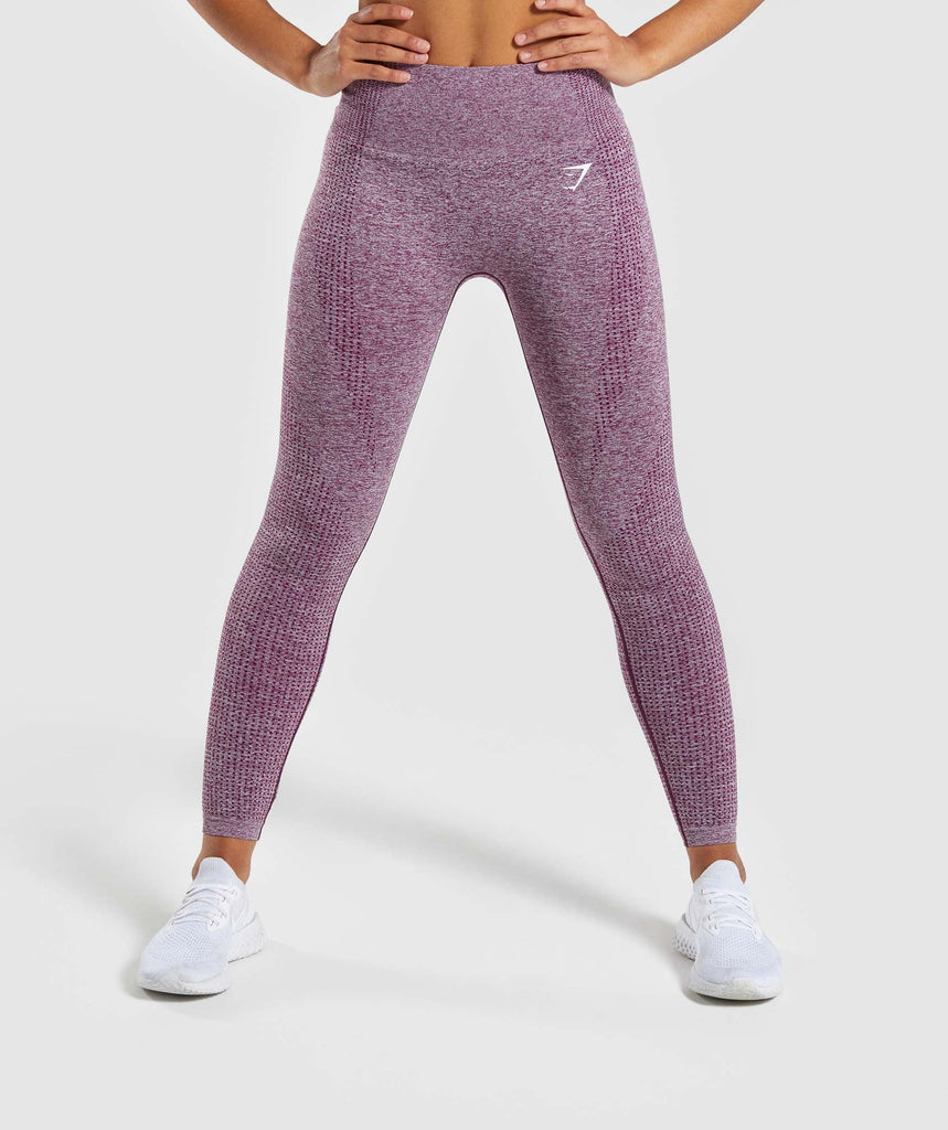 Gymshark Vital Seamless Leggings - Purple 1
