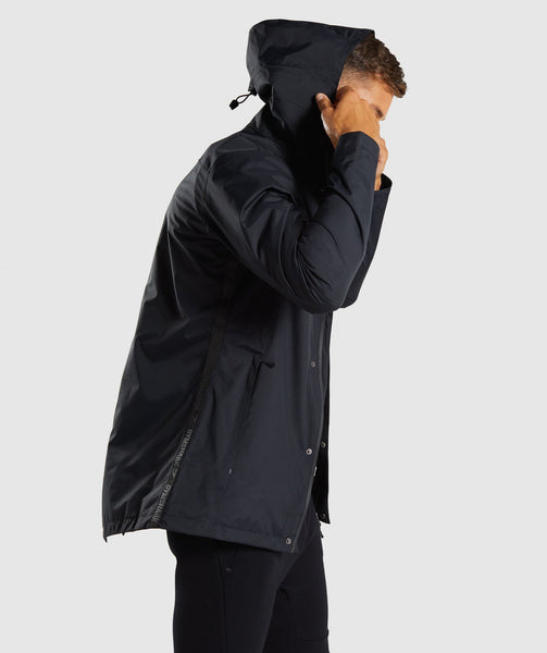 Gymshark Vortex Waterproof Jacket - Black 1