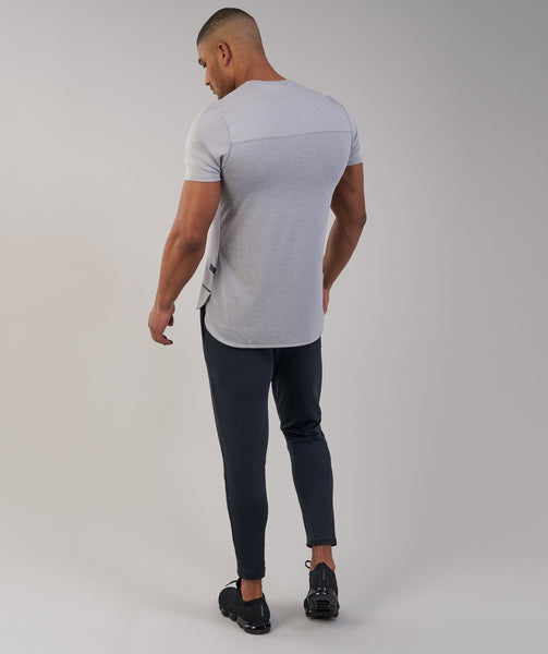Gymshark Breathe T-Shirt - Light Grey Marl 3