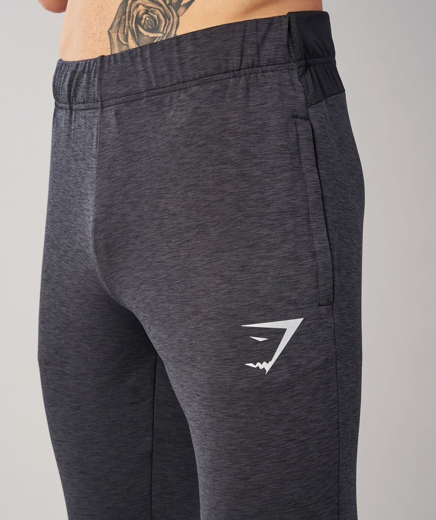 Gymshark Fallout Bottoms - Black Marl 5