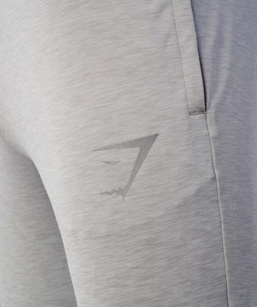 Gymshark Fallout Bottoms - Light Grey Marl 3