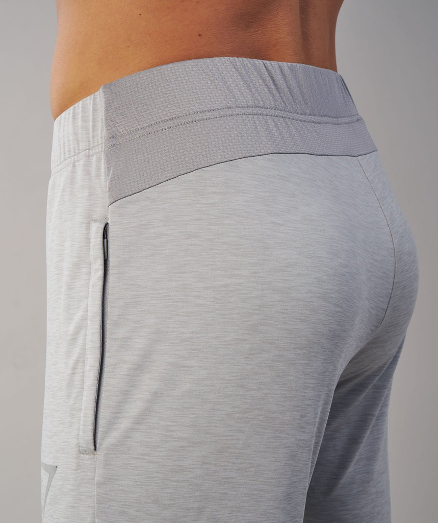 Gymshark Fallout Bottoms - Light Grey Marl 5