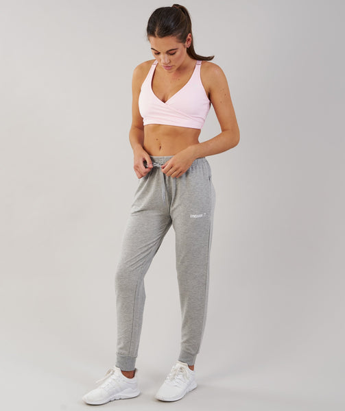 Gymshark Fit Bottoms - Light Grey 4