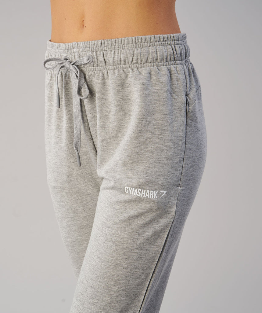 Gymshark Fit Bottoms - Light Grey 5