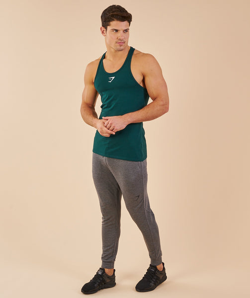 Gymshark Ion Stringer - Forest Green 4