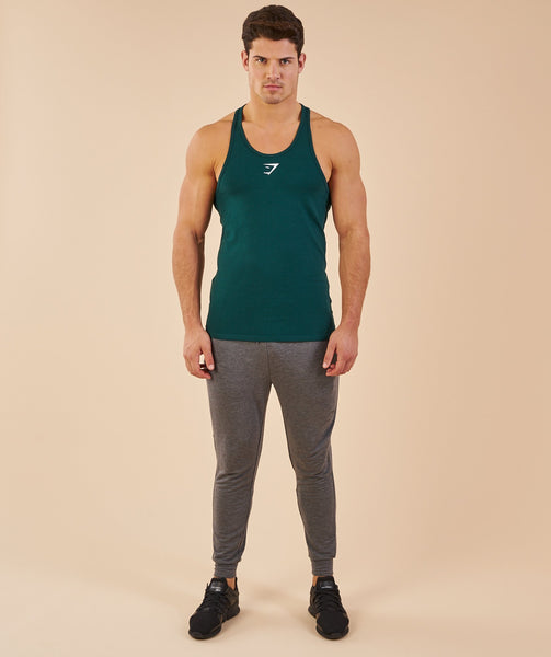 Gymshark Ion Stringer - Forest Green 3